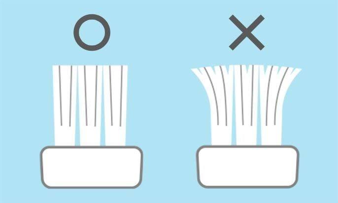 歯ブラシの交換時期