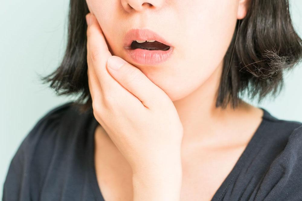 顎関節症になりやすい